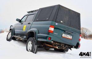 Triffid Trucks Высокий кунг УАЗ Патриот с боковыми люками
