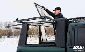 Triffid Trucks, Высокий кунг из алюминия c боковыми и верхним люком
