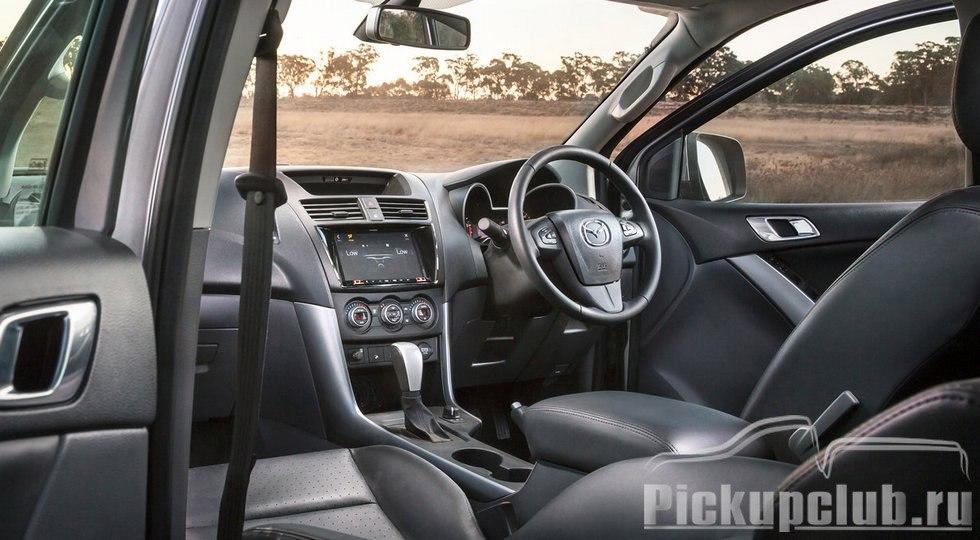 Mazda представила обновленный BT-50