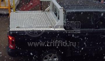 Силовая крышка VW Amarok и защитная дуга