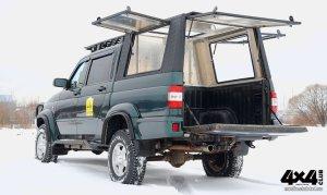 Triffid Trucks Кунг из алюминия. Воздух и объем. Прочность и безопасность.