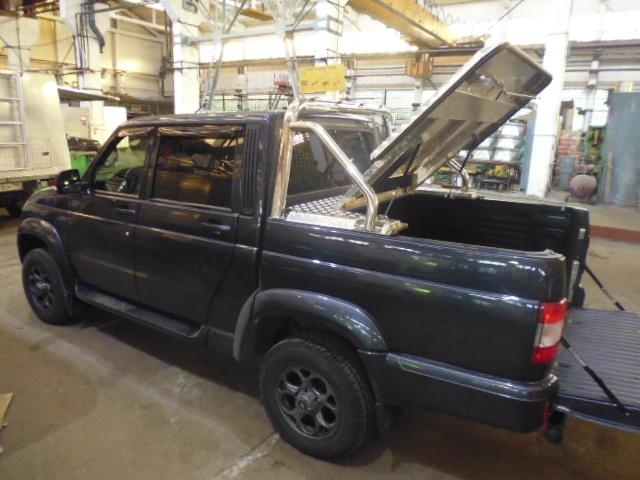 Крышка под дуги УАЗ пикап Triffid Trucks