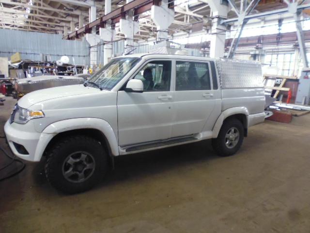 Кунг УАЗ пикап Triffid Trucks